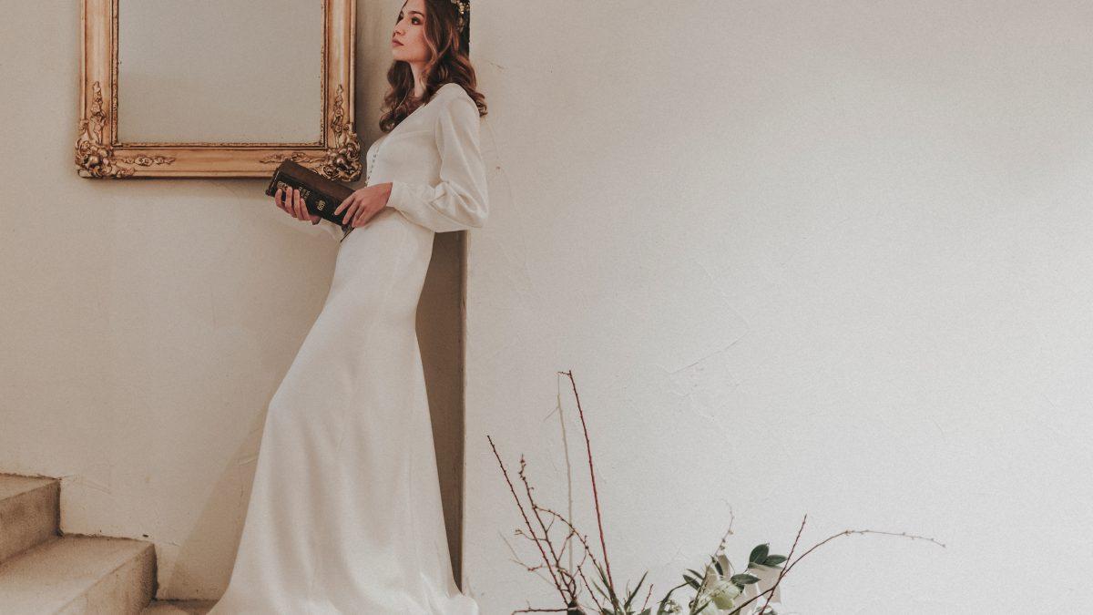 Vestido de novia Maria Gadea